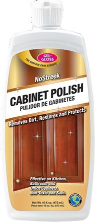 No Streek Cabinet Polish 16oz